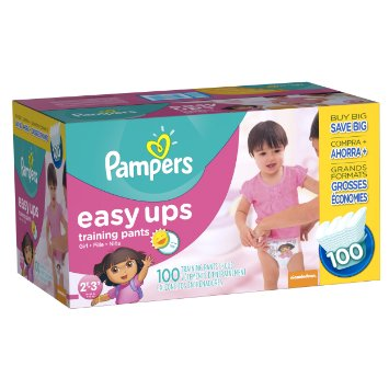 100 cts Pampers Easy Ups Training Pants